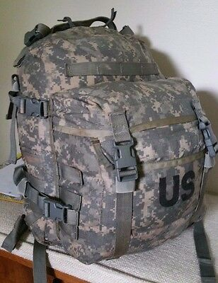 US Issue Assault Pack Used in GC with stiffener and BONUS