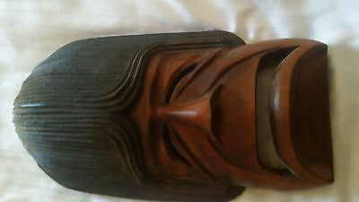 Wood carving- large- possibly South American. mexican
