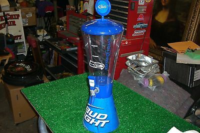 BUD LIGHT Seattle Seahawks Super Tube Tabletop Draft Beer Tower Dispenser