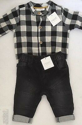 Next Baby Boys Two Piece Set Up To 3 Months