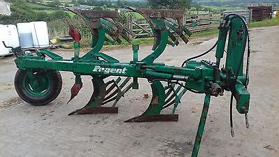 Front mounted plough