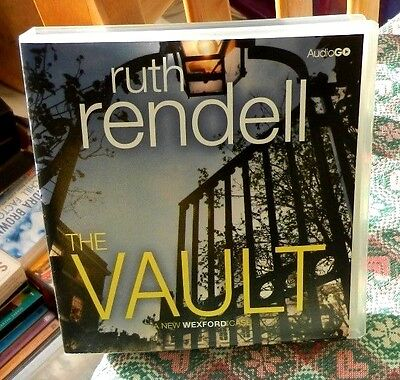 AudioGo Book (8 CDs) - The Vault by Ruth Rendell A Inspector Wexford Story