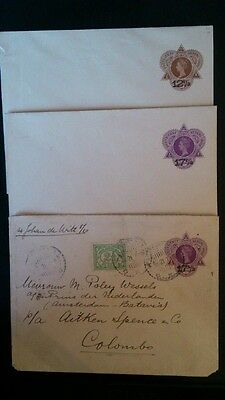 Covers letters Nederland Indie 1921