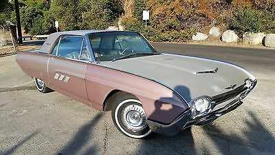1963 Ford Thunderbird  1963 FORD THUNDERBIRD