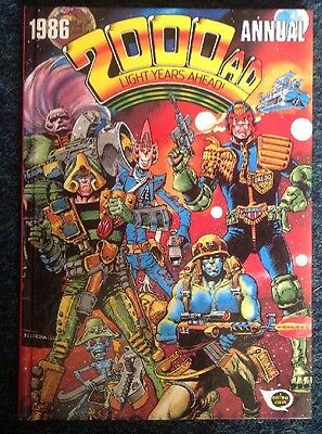 2000 AD Annual 1986 Not Clipped