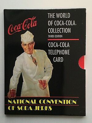 Coca-Cola rare limited issued phonecard 1995