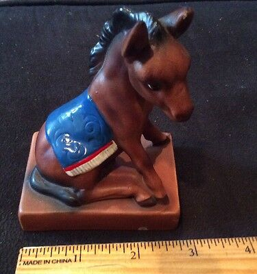 Porcelain Mexican Burro Donkey Figurine Made In Japan
