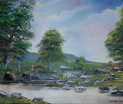 Original Oil Painting on canvas direct from the artist Kevin Richards