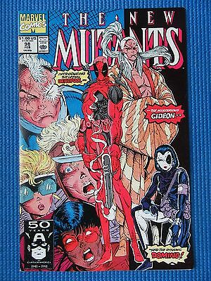New Mutants # 98 - (Nm) - 1St Appearance Of Deadpool - High Grade