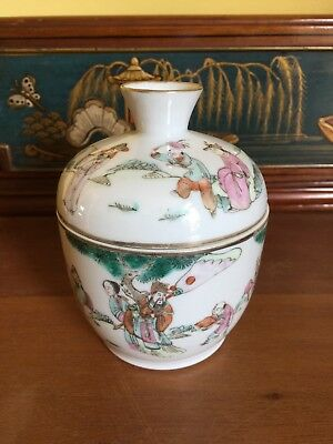 Antique Chinese Porcelain Cup And Cover