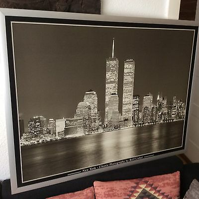 WTC World Trade Center auf Kunstfotografie, von Ralf Uicker B&W 90 X120 cm KULT!