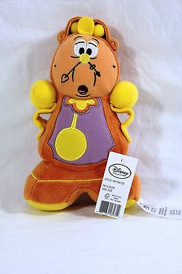 Cogsworth Plush - Beauty and the Beast - Small - 7 1/2''New With Tags