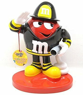 M&M's World Red Character as Fireman Candy Dispenser New