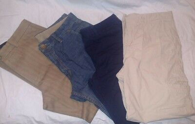 Lot of 4 mens pants/Jean sz 33/32; Kenneth Cole, j crew & others