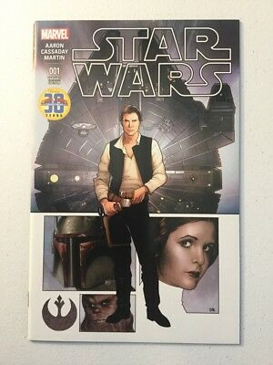 Marvel Star Wars #1 Cards Comics And Collectibles Frank Cho Rare Variant NM