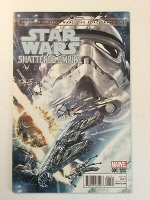 Marvel Star Wars Shattered Empire #1 Marco Chechetto 1:25 Variant NM