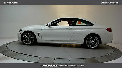 2018 BMW 4-Series 430i 430i 4 Series New 2 dr Coupe Automatic Gasoline 2.0L 4 Cyl Alpine White