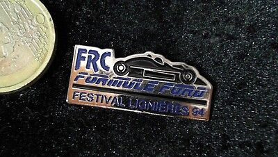 Ford Racing Pin Badge Formula Ford Festival 1994 Lignieres FRC