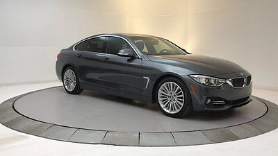 2015 BMW 4-Series 435i Gran Coupe 4dr 435i Gran Coupe 4dr 4 Series Gasoline 3.0L STRAIGHT 6 Cyl Mineral Gray Metallic