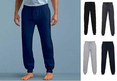 Mens Tracksuit Bottoms Fleece Trackies Gym Jogging Joggers Sweat Pants GD086