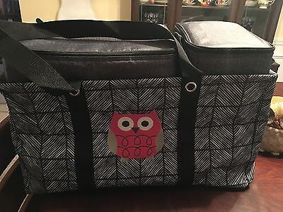 THIRTYONE Thirty One 31 Gifts Tote N' Chill Trio BRAND NEW W/ Owl Icon