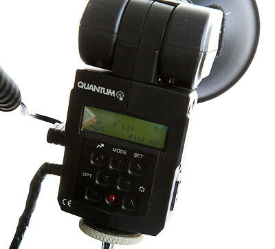 Quantum X5D-R Flash with Reflector and Flash Tube - Mounts to Stand, Bracket etc