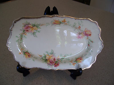 "Royal Staffordshire AJ Wilkinson Ltd ""Floral Dance"" Honeyglaze plate"