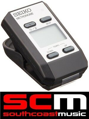 Metronome Seiko Dm51 Digital Pocket Size Clip On - Brand New & Full Featured