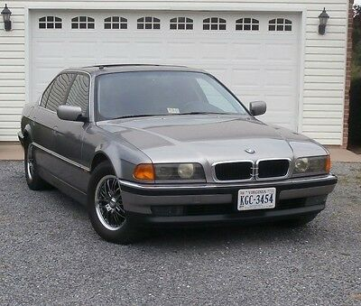 1997 BMW 7-Series BLACK/CHROME 740IL PRICED TO SELL