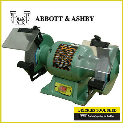 "ABBOTT & ASHBY 6"" / 150 mm INDUSTRIAL BENCH GRINDER - ATBG280/6"