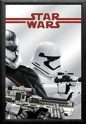 "Star Wars Episode 7 Wall mirror ""Captain Phasma"""