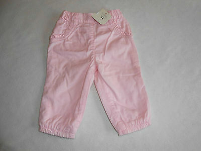 Baby Girls Clothes 3-6 Months - Pretty Lined Trousers  -New -