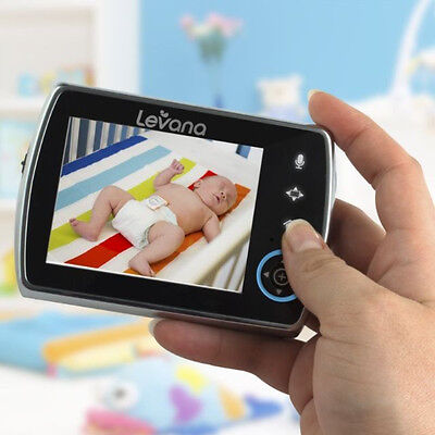 """Levana Keera 3.5"""" Pan/Titlt/Zoom Video Baby Monitor with Picture/Video Recordin%"""
