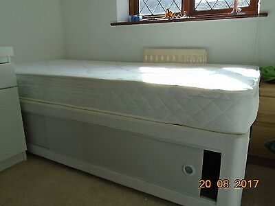 Single divan bed with opening storage space for Single divan bed with storage drawers
