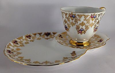 Vintage Queen Anne Tennis Cup & Saucer Set-Made In England-1950's?