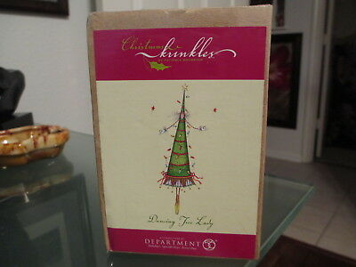 NIB Dept 56 Patience Brewster Dancing Tree Lady Christmas Kringles Ornament