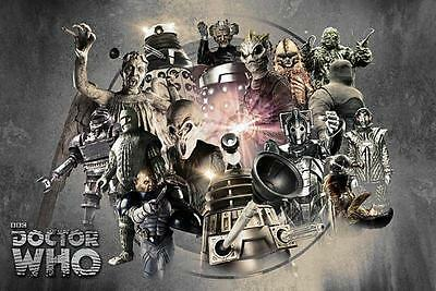 """Doctor Who : Enemies - Maxi Poster 61cm x 91.5cm - 36"""" x 24"""" inch"""