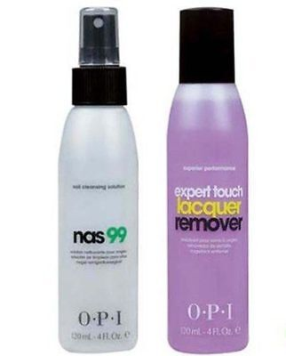 OPI Treatment - NAS 99 + Expert Touch Remover 2 X 120ml