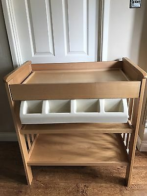 Mamas & Papas ROSALIND Baby Changing Table / Dresser with built-in Bath