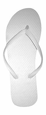 New 72 PaiRs Womens Solid White Flip Flops NWT Ladies