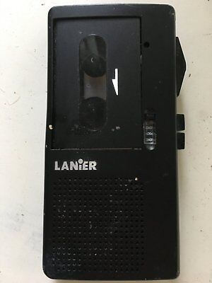 Lanier Micro-cassette Micro Recorder Dictaphone Player Model P-165