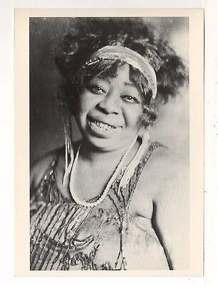 1923 Photograph of Ma Rainey – Postcard Printed in the 1980's