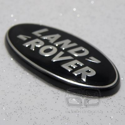 Land Rover Discovery 3 4 Disco Black Supercharged Steering Wheel Badge Emblem