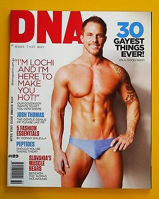 DNA magazine issue # 189 Australian gay men's fashion and style