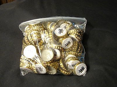 100pc Lot Miller Pilsner Lite Beer Bottle Caps ~ NO DENTS -  Clean