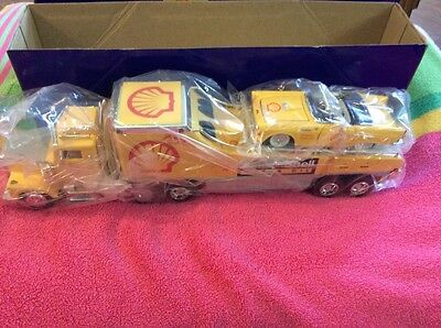 1/43 2000 Taylor Made Shell Car Carrier Truck Serially Numbered Only 6,516 Made