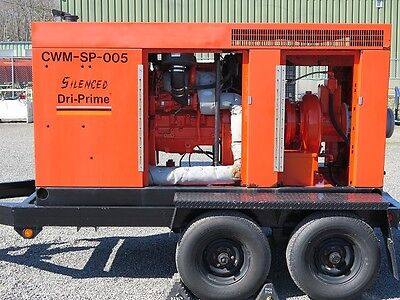 "GODWIN CD225 - 8"" High Flow Pump - Trash solids up to 3"""