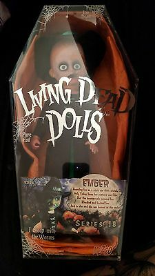 Living Dead Doll Ember series 18 Halloween gothic witch horror scary