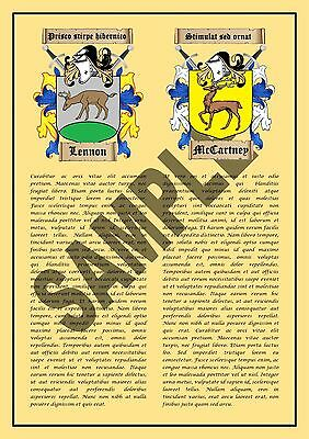 Heraldic Coats of Arms and Family History