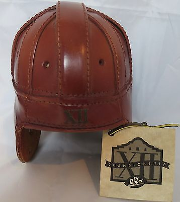 Dr.Pepper Big 12 Conference Football Championship1999 XII Leather Helmet Replica